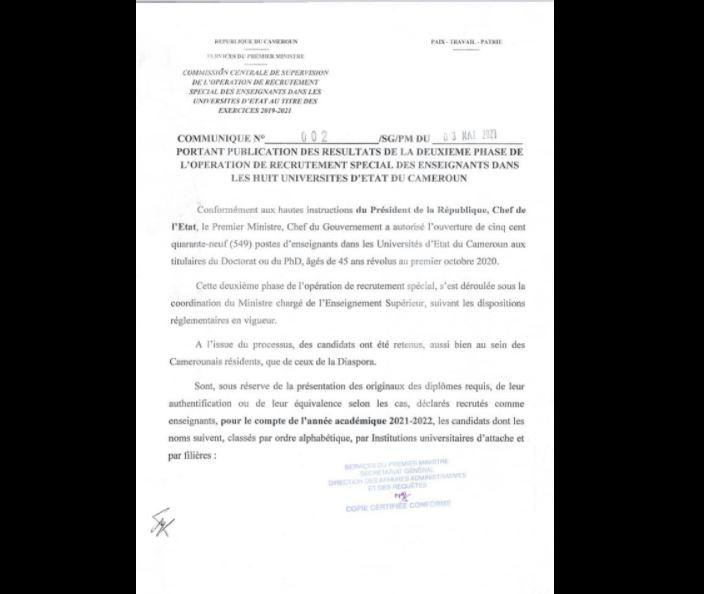 Recrutement_Special_Universites_Guibai_Gatama