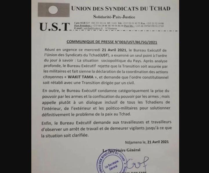 Tchad_Demission_CMT