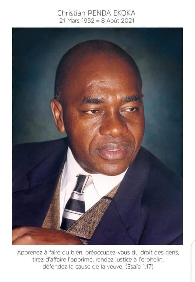 Carnet noir: Voici le programme des obsèques de Christian Penda Ekoka