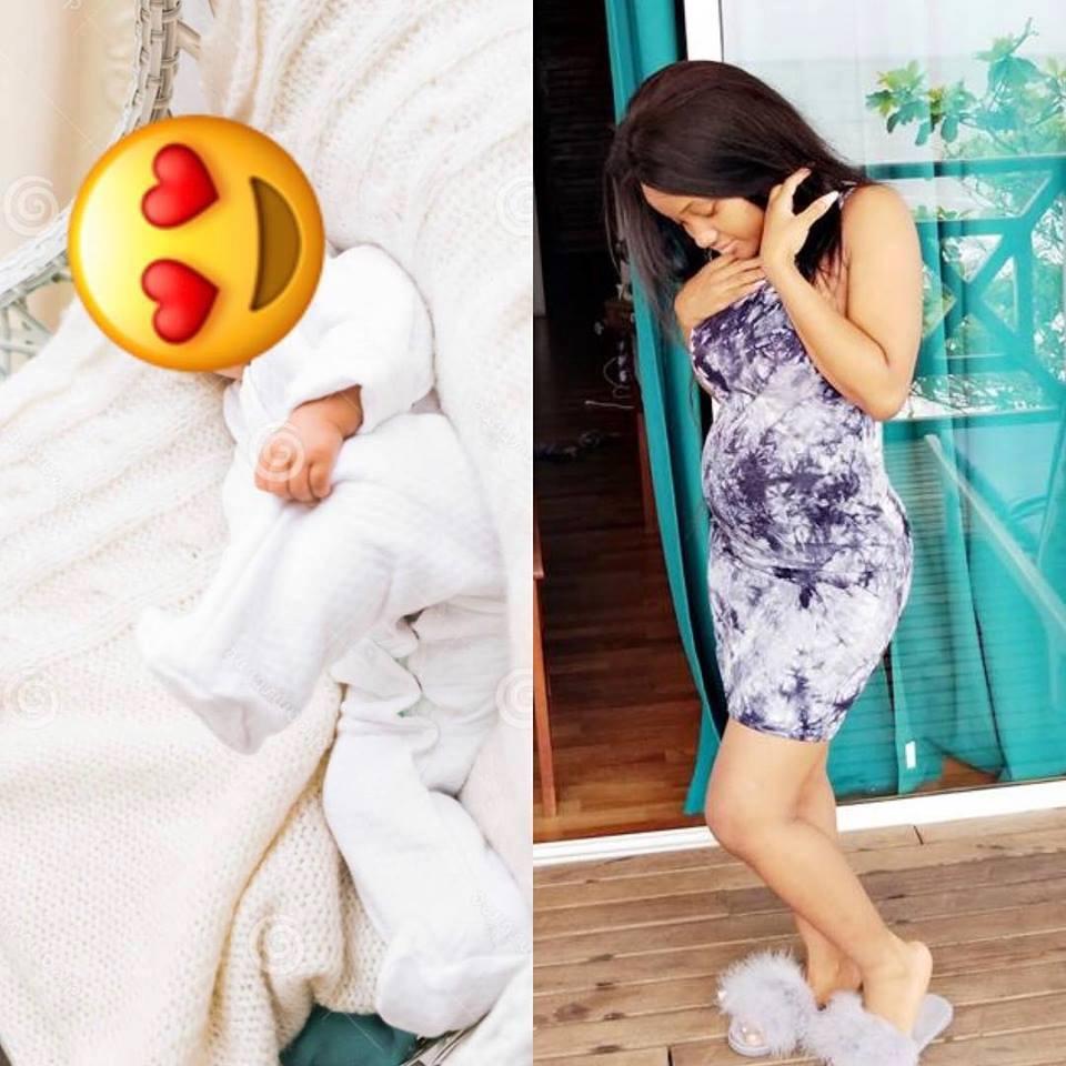 poupi_a_accouche Exclusivité: Poupy a donné naissance à une fille [Image]