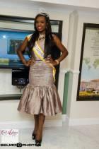 Larissa Ngangoum returns from Miss World contest