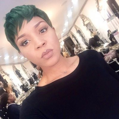 Hair trend: green and black