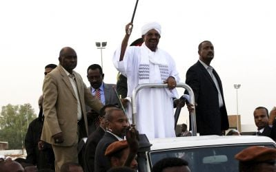 Photo report: Hero's welcome for Bashir in Sudan