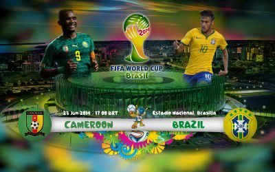 Cameroon vs Brazil: Redemption game