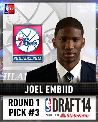 Congratulations Joel Embiid