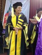 Michaelle Jean awarded doctor honoris causa