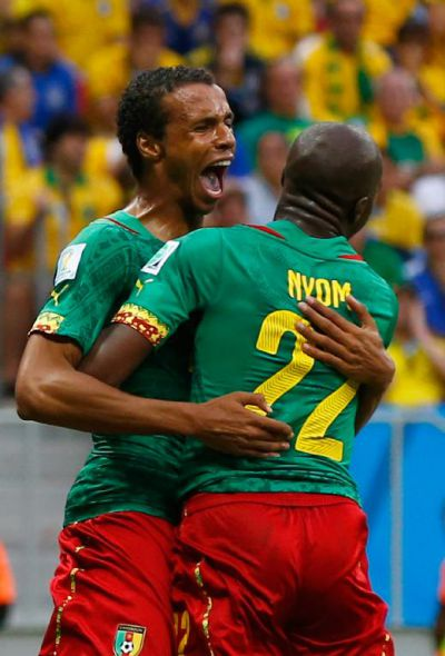 Matip scores Cameroon only goal at WC 2014
