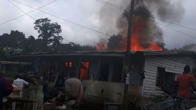 Another fire outbreak in Buea