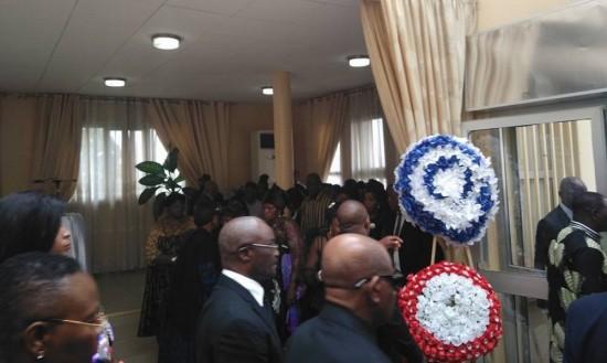 Obsèques de Joseph Ndi-Samba, fondateur de l'université de Yaoundé-Sud