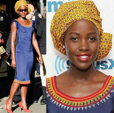 Lupita Nyong'o slays in another Kibonen NY design