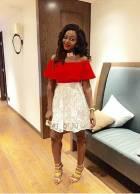 Cameroonian actress,Okawa Shaznay blew us away with her style