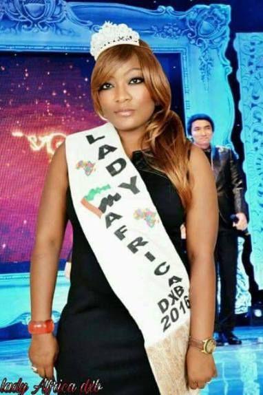 Une Camerounaise élue lady Africa 2016 aux émirats Arabes unis