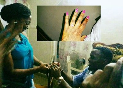 Cameroon actress, Bih Nathalie engaged by longtime boo