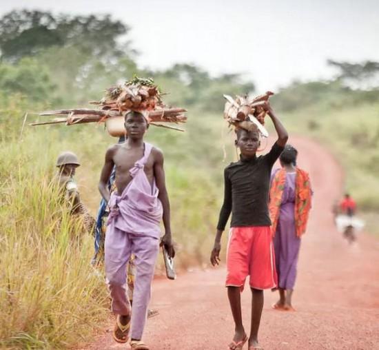 Un village de Touboro au Nord-Cameroun