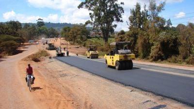 Autoroute Yaoundé-Douala: près de 10 km déjà bitumés