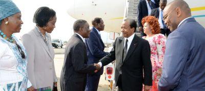 Arrivée de Paul Biya à New York pour la 71ème AG de l'ONU