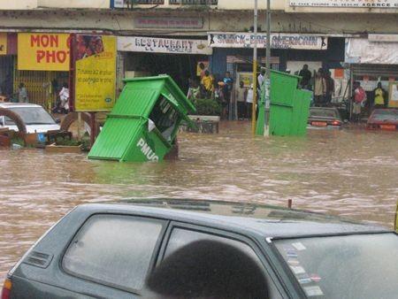 Inondation a Douala