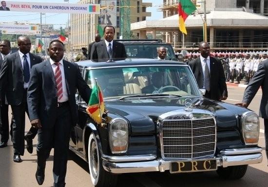 La limousine de Paul Biya Biya