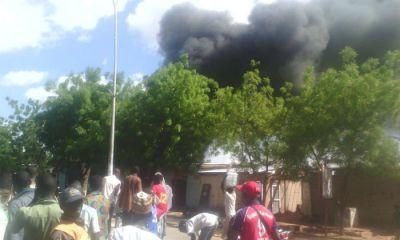 Un incendie au quartier Foulberé à Garoua