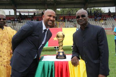 Le trophée présenté à Yaoundé [Image]