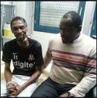 Lovely photos of Rigobert Song after two months in French hospital