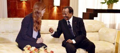 Paul Biya reçoit Samantha Power