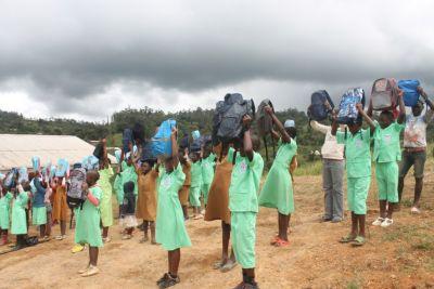Asbl Kalara donne du sourire aux élèves à l'Ouest