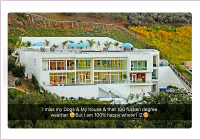 Dencia shows off new massive luxurious mansion