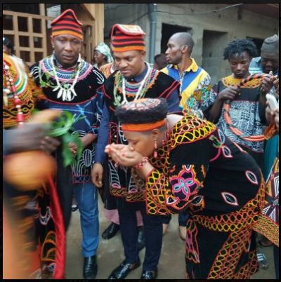 Three Nigerian actors given chieftaincy title in Kom