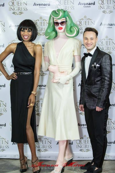 Irene Major hosts the Avenard Couture Christmas Fashion Show