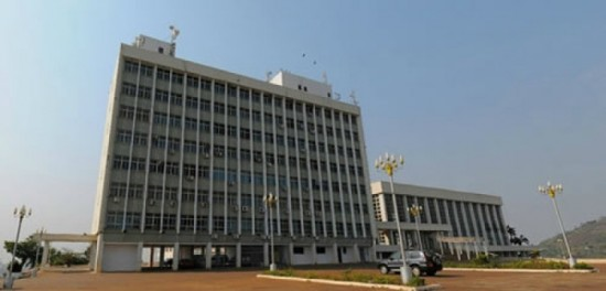 Le Palais des Congrès de Yaoundé en réfection
